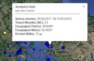 Σεισμός στη Μυτιλήνη: Τα Ρίχτερ συνεχίζουν να αναστατώνουν τους κατοίκους του νησιού [pic]