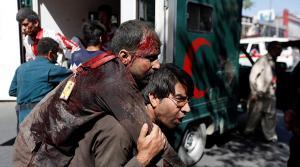 Τρόμος και αίμα μετά από επίθεση στην Καμπούλ