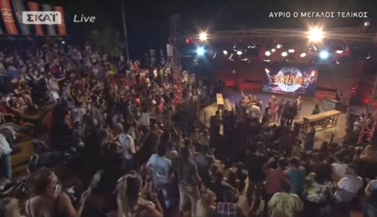 Survivor Αγγελόπουλος: Χαμός για Ντάνο! Αποθέωση και ντου από το κοινό! [vids]   Newsit.gr