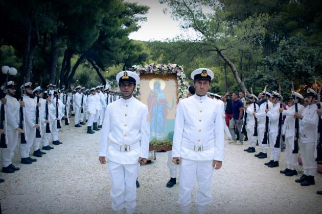 O Εορτασμός της Αγίας Μαρίνας παρουσία της ηγεσίας των Ενόπλων Δυνάμεων [pics] | Newsit.gr