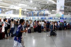 «Απόβαση» τουριστών! Ρεκόρ αφίξεων στα 14 περιφερειακά αεροδόμια!