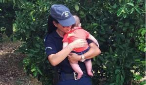 """Ναύπλιο: """"Έκανα το αυτονόητο"""" λέει η αστυνομικός που συγκίνησε με την πράξη της"""