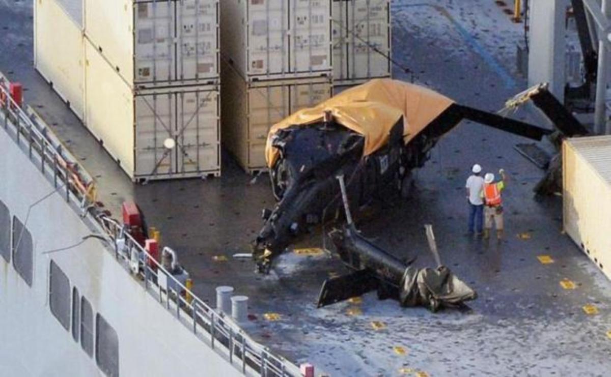 Πόρισμα: Εσφαλμένη τεχνική, όχι τεχνική βλάβη, έριξε το αμερικανικό Blackhawk [pics] | Newsit.gr