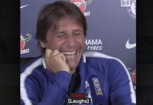 Τσέλσι: Ο Κόντε «λύθηκε» στα γέλια με Ντιέγκο Κόστα! [vid]