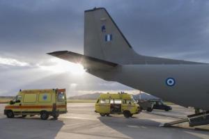 Αεροδιακομιδές ασθενών: 568 πτήσεις σωτηρίας από την Πολεμική Αεροπορία