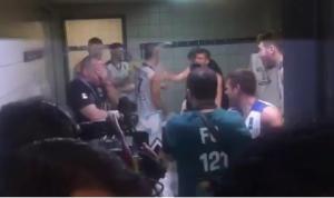 Εθνική Νέων: Χαμός στα αποδυτήρια! Υποδοχή με μπουγέλο στον προπονητή [vids]