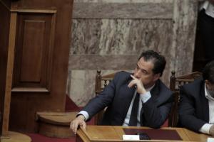 Καταθέτει ο Άδωνις Γεωργιάδης στην Εξεταστική για την Υγεία