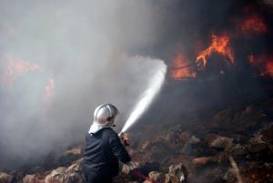 Φωτιά ΤΩΡΑ στον Κάτω Αλισσό Αχαΐας