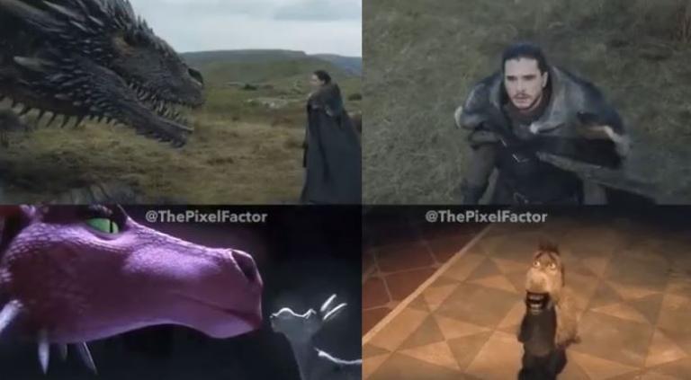 Το Game of Thrones αντιγράφει το Shrek! Το βίντεο που κάνει τον γύρο του διαδικτύου | Newsit.gr