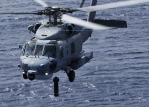 Αερομεταφορά πολυτραυματία ορειβάτη με ελικόπτερο του Πολεμικού Ναυτικού