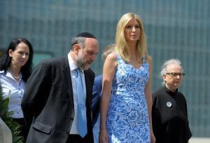 Ιβάνκα Τραμπ: Τίμησε τα θύματα του εβραϊκού γκέτο της Βαρσοβίας [pics]