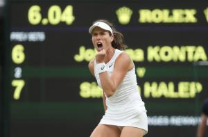 Wimbledon: Έσπασε την… κατάρα η Κόντα [vid]