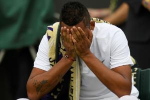 Wimbledon: Εγκατέλειψε τον αγώνα ο Κύργιος [vid]