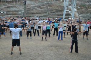 Λύκειο Επιδαύρου: Έριξε αυλαία το θερινό σχολείο αρχαίου δράματος