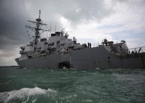 Αντιτορπιλικό USS John S. McCain: Βρέθηκαν νεκροί αγνοούμενοι ναυτικοί