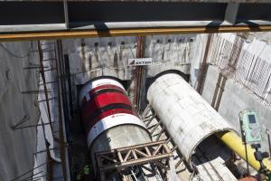 Θεσσαλονίκη: Νέα έργα για το μετρό – Δεύτερη σήραγγα στη γραμμή προς Καλαμαριά [pics]