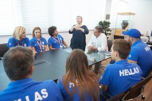 Μητσοτάκης προς την Εθνική Ολυμπιακή Ομάδα Κωφών: «Μας συγκινήσατε»