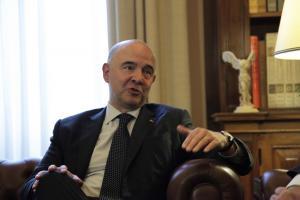Οικονομική ανεξαρτησία της Ελλάδας σε 1 χρόνο βλέπει ο Μοσκοβισί