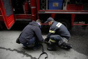 Φωτιά σε αυτοκίνητο στην Αθηνών – Κορίνθου