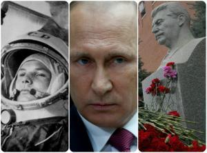 Ρωσία: Γκαγκάριν, Στάλιν, Πούτιν…