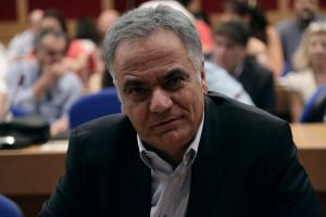 Σκουρλέτης από… άλλη κυβέρνηση – «Η κυβέρνηση να θέσει όρια στους θεσμούς για τους πλειστηριασμούς»