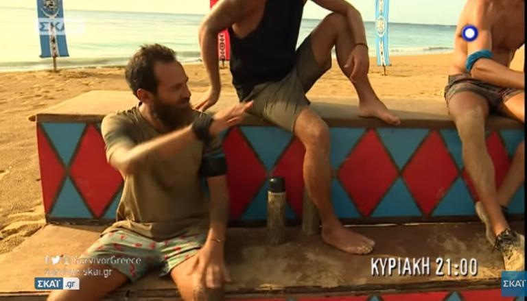 Survivor: Άδειασμα Σπαλιάρα σε Αναγνωστόπουλο για Ντάνο [vid] | Newsit.gr