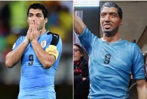 """Ένας μεθυσμένος """"ξήλωσε"""" το άγαλμα του Σουάρες στον Ουρουγουάη [pics]"""