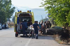 Τροχαίο με δύο νεκρούς κοντά στην Κυπαρισσία