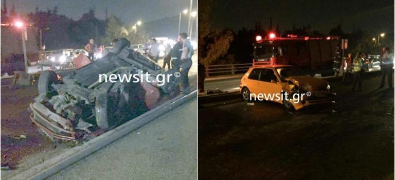 Σοβαρό τροχαίο στην Λεωφόρο Κατεχάκη! Νεκρός ο ένας οδηγός – Σοκαριστικές λεπτομέρειες για το δυστύχημα | Newsit.gr