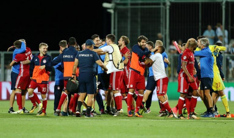 Βαθμολογία UEFA  Ο Ολυμπιακός έστειλε την Ελλάδα στη 12η θέση ... 099f3f8c7b5