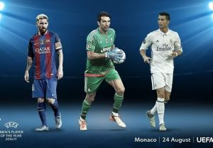 UEFA: Οι τρεις υποψήφιοι για το βραβείο του κορυφαίου