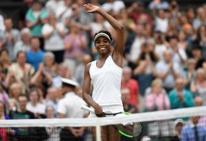 Wimbledon: Γουίλιαμς και Μουγκουρούθα στα ημιτελικά