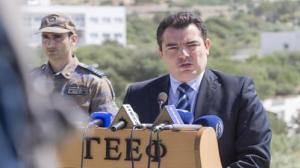 Καθησυχαστικός ο Κύπριος Υπουργός Άμυνας: Δεν μας ανησυχούν οι τουρκικές προκλήσεις στην ΑΟΖ