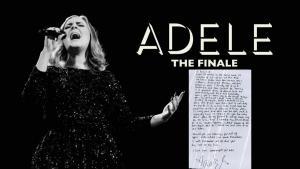 Με αυτό το χειρόγραφο η Adele αποχαιρέτισε τους θαυμαστές της [pics, vids]