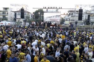 Γήπεδο ΑΕΚ: Δείτε σε live streaming τη γιορτή της Ένωσης στη Νέα Φιλαδέλφεια!