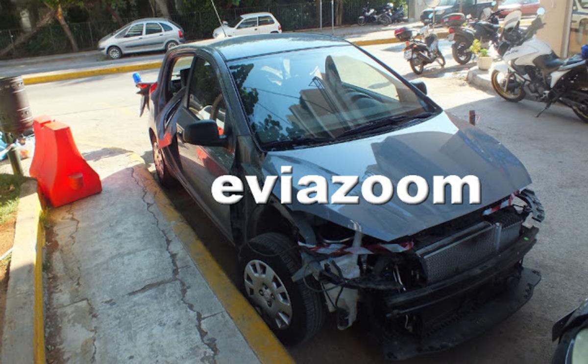Χαλκίδα: Έπιασαν τον φανοποιό να διαλύει κλεμμένο αυτοκίνητο [vid] | Newsit.gr
