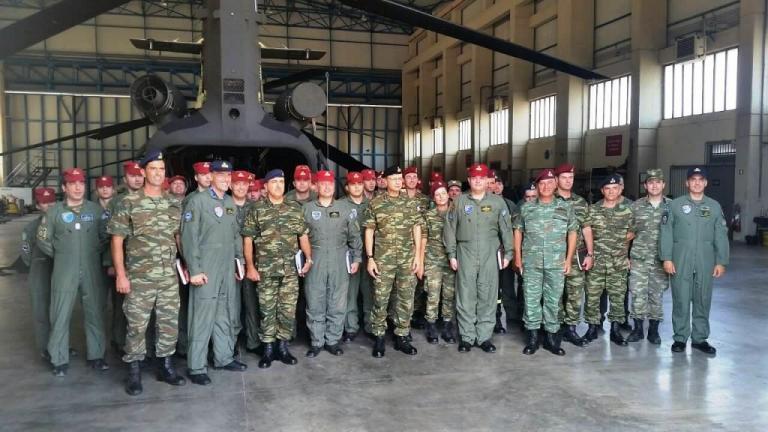 Γιατί ο Αρχηγός Στρατού επισκέφτηκε το  Στρατιωτικό Αεροδρόμιο Πάχης Μεγάρων [pics] | Newsit.gr