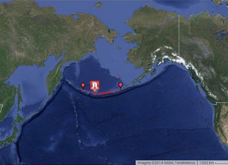 Ισχυρός σεισμός 7,8 Ρίχτερ μεταξύ ΗΠΑ και Ρωσίας   Newsit.gr