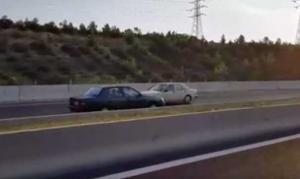 Οδηγούσε ανάποδα στην εθνική οδό Κορίνθου – Τριπόλεως! [vid]