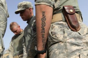 Τατουάζ στις Ένοπλες Δυνάμεις – Τι ισχύει