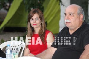 Αχτσιόγλου: Έβαλε το… κόκκινο φουστάνι στο κάμπινγκ της Νεολαίας ΣΥΡΙΖΑ [pics]