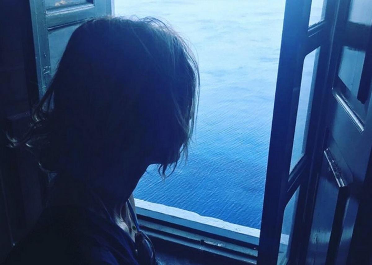 Τζένη Μπαλατσινού: Η νέα φωτογραφία που ανέβασε από την Πάτμο | Newsit.gr