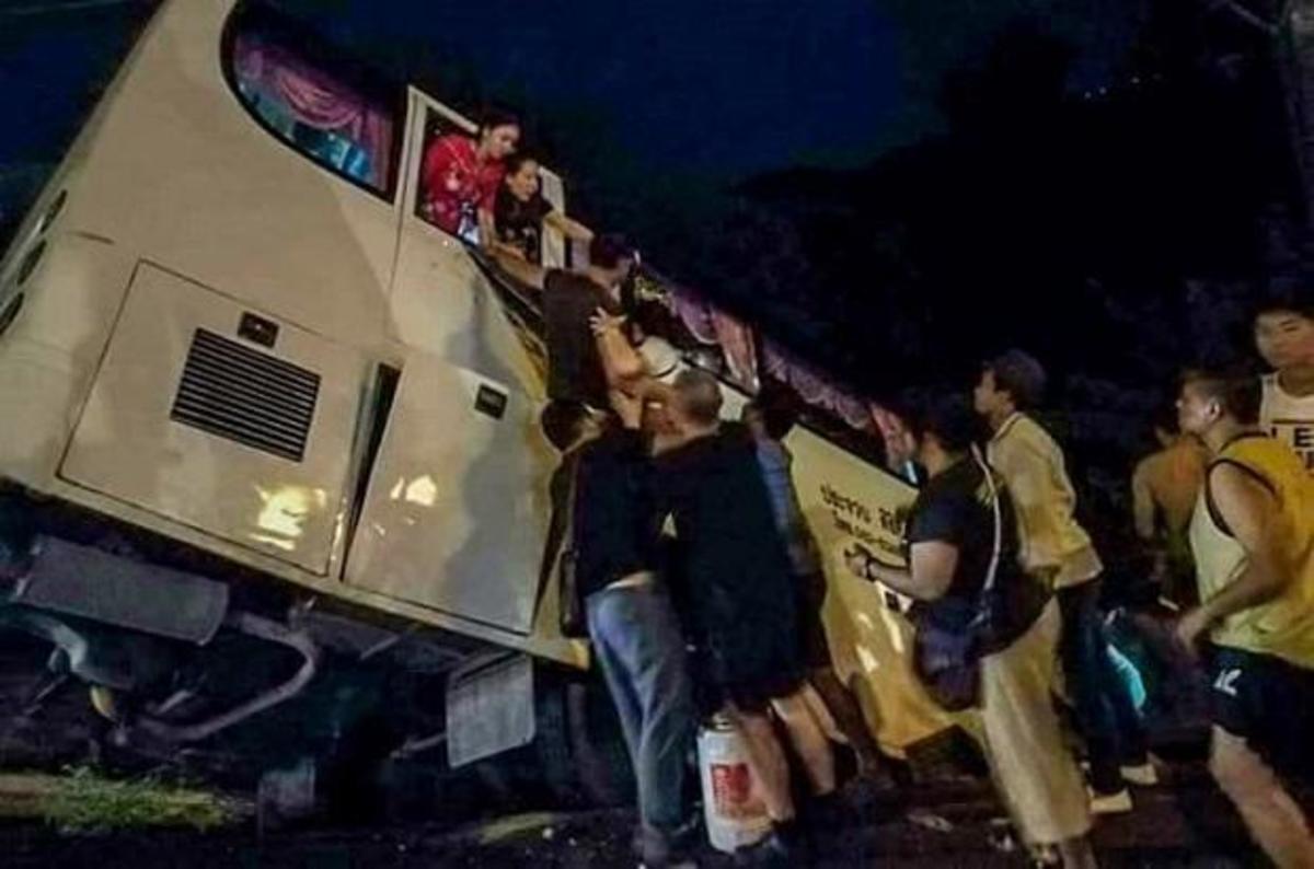 Τρόμος και αίμα σε τούνελ! 36 νεκροί μετά από τροχαίο με λεωφορείο | Newsit.gr
