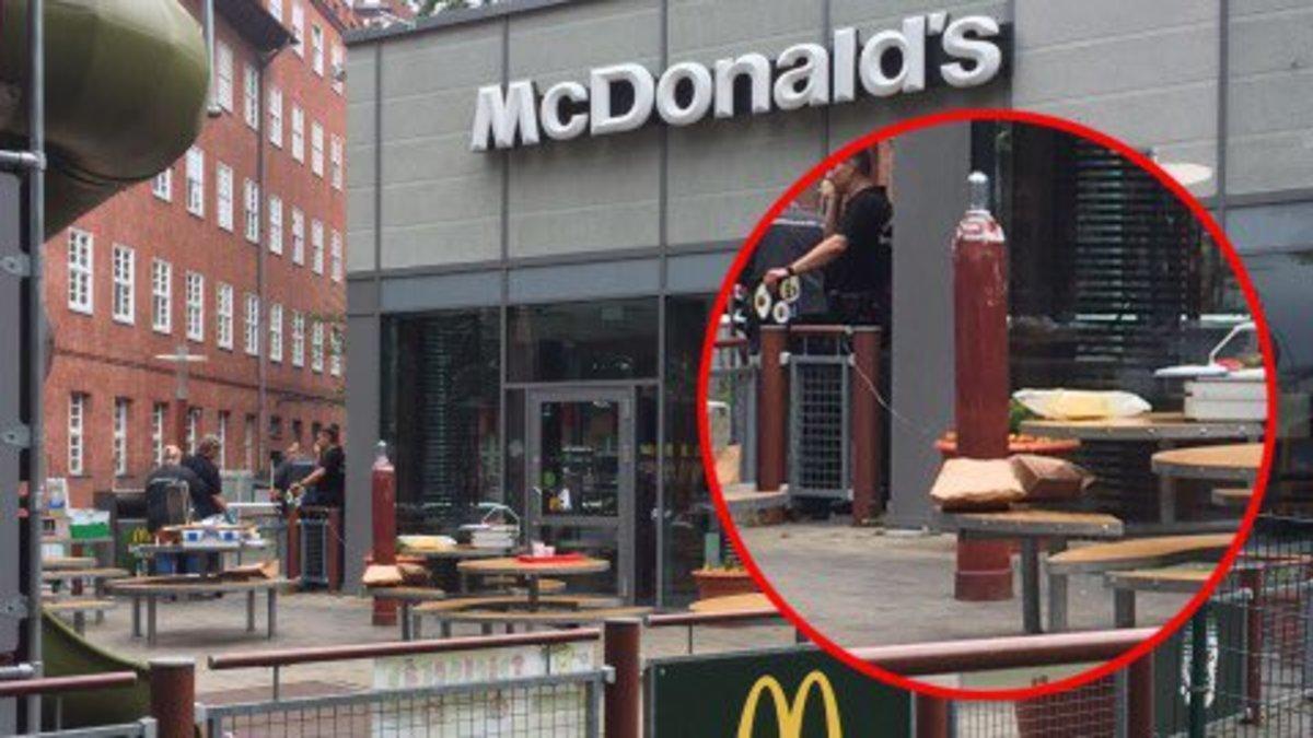 Συναγερμός στο Βερολίνο: Βρήκαν «ύποπτη» φιάλη υγραερίου σε McDonald's