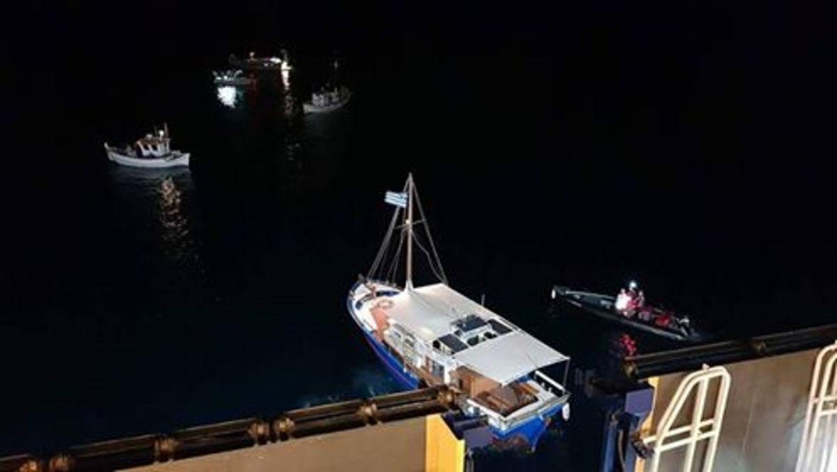 Εικόνες από την προσάραξη του Blue Star Patmos | Newsit.gr
