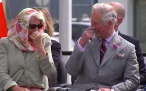 Ρεζιλίκια! Κάρολος και Καμίλα δεν σταματάνε να γελούν στον Καναδά [vid]