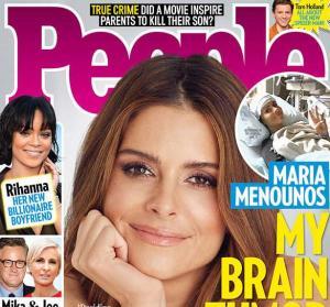 Μαρία Μενούνος: Σοκ! Έχει όγκο στον εγκέφαλο – Από την ίδια ασθένεια πάσχει και η μητέρα της
