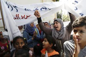 Πρόσφυγες διαδήλωσαν στη Γερμανική Πρεσβεία της Αθήνας