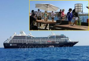Το «πλοίο των οργίων» έφτασε στα Χανιά! Τι δηλώνουν οι επιβάτες [pics, vids]