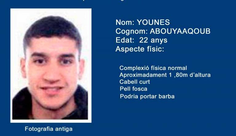 Βαρκελώνη: Νέες φωτό του καταζητούμενου τζιχαντιστή – Στους 15 οι νεκροί | Newsit.gr